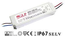 GPV-100-24 100,8 Watt - 24 Volt LED Trafo Treiber Netzteil IP67 Wasserfest
