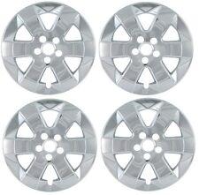 "2004-2009 PRIUS Chrome Trim Ring & Wheel Cover Skin SET fits 15"" 6-spoke Alloy"