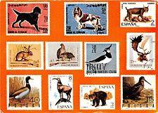BG6051 benidorm animal dog rabbit bird bear duck cerf stamp spain