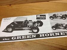 The Green Hornet Assembly Instructions, 1/24 Scale Monogram