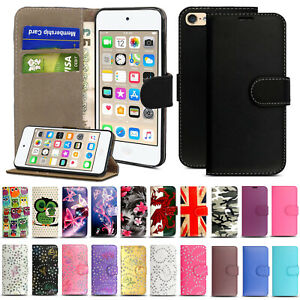 Case For Apple iPod Touch 4th 5th 6th 7th Generation Flip Wallet Leather Cover