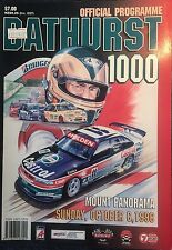 1996 Tooheys Bathurst 1000 Official Programme Celebrating 34 Years Of The Race