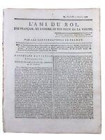 Vimarcé en 1791 Mayenne Alençon Révolution Française Chevalier de Saint Louis