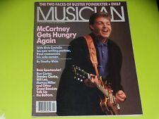 MUSICIAN MAGAZINE - N°112 - FEVRIER 1988 - PAUL Mc CARTNEY - BASS SPECTACULAR...