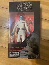 """Star Wars Black Series Grand Admiral Thrawn 6"""" Figure #47 New Star Wars Rebels"""