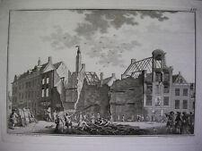 `LEIDEN, DER BRAND AN DER VISBRUG VOM 3.10.1766´ #3, NOACH VAN DER MEER, 1766