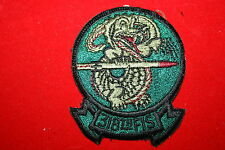 USAF US AIR FORCE SQUADRON CLOTH PATCH 318TH FIGHTER INTERCEPTER FIS SUBDUED