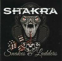 SHAKRA - SNAKES & LADDERS (2017) Heavy Metal CD Jewel Case by Fono Music+GIFT