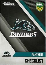 2017 NRL Traders Base Card (101) PANTHERS Check List