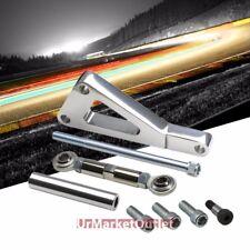 Aluminum Alternator Mounting Bracket Kit For Gen1 Chevy SBC V8 Long Pump LWP