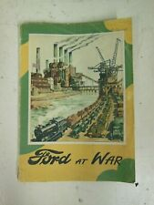 Ford at War by Hilary St George Saunders Paperback Book Ford Motor Company 1946