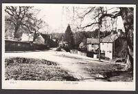 Postcard Emery Down nr Brockenhurst New Forest Hampshire village view EYD5 RP