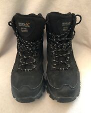 Regatta Holcombe Mid Hiking Boots Black Size 8
