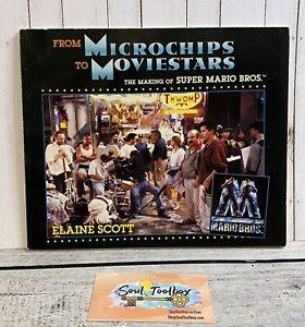 1993 First Edition Super Mario Bros Nintendo Rare Book Microchips To Movie Stars