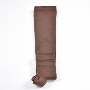 Open Toe Compression Socks Varicose Knee Vein Support Stockings Men Women