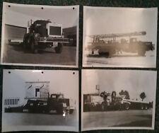 4 Photos - amion F.W.D.  - U.S.A. - Anées 1960