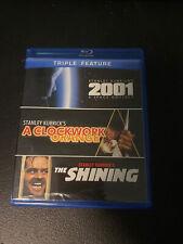 The Shining / Clockwork Orange / 2001: A Space Odyssey (Blu-ray Disc, 2012,.