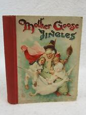 MOTHER GOOSE JINGLES Nister & Dutton Illustrated in Color and B&W