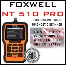 FOXWELL NT510 for HONDA Accord OBD2 DIAGNOSTIC SCANNER ERROR FAULT CODE ABS SRS