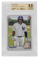 Jasson Dominguez 2020 Bowman #BFE8 New York Yankees Baseball Card BGS GM MT 9.5