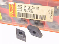 NEW SURPLUS 10PCS. SANDVIK  DNMG 442-QM  GRADE: 4025  CARBIDE INSERTS