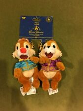 Disney Shanghai Chip & Dale Plush Purse Charms Keychains New