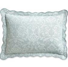 """Royal Velvet King Coralie Damask Pillow Sham 19""""x36"""" Light SeaMist"""