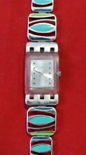 Swatch AG 2008 My Poetry Square Women's Swiss Watch SUBK140G - Running