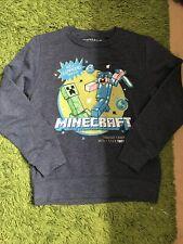 Next Boys Minecraft Jumper Navy 9 Years