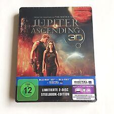 Jupiter Ascending Blu-ray (3D+2D)Steelbook [Germany] Debossed Exclusive Edition!