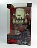 THE BLACK SERIES STAR WARS IMPERIAL AT-ST WALKER WITH DRIVER *RARE UK STOCK*