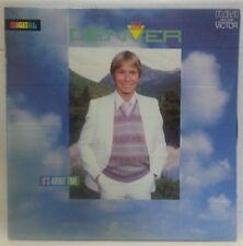 JOHN DENVER - vintage vinyl LP - It's About Time - gatefold w/sleeve & words
