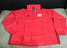 Mens Denmark player issue hoodie rain jacket New size XL Adidas