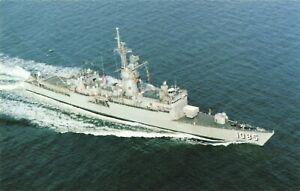 Postcard USS Donald B Beary FFT-1085 Frigate