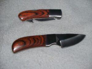 RIDGE RUNNER knife set of 2