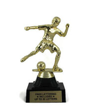 Soccer Trophy, Youth- Male- Personalized- Desktop Series- Free Lettering