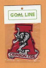 OLD ALABAMA CRIMSON TIDE LARGE 3 1/2 in LOGO PATCH UNSOLD STOCK STILL in PACKAGE