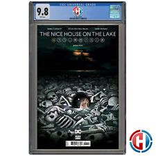 NICE HOUSE ON THE LAKE #1 CGC Graded 9.8 PRESALE 6/2/21 TYNION