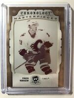 2018-19 The Cup Printing Plates Chronology Magenta Chuck Kobasew Flames 1 of 1