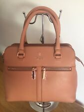 *Gorgeous* MODALU NEW PIPPA TOTE SMALL GRAB BAG Textured Leather Dusky Pink £220