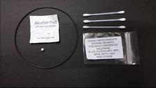 Ceramic Bearing upgrade for rega platines P3, P5, P3/25 etc Inc drive belt Huile