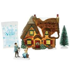 Department 56 Dickens Village New 2018 BROOKSHIRE COTTAGE BOXED SET/4 6000589