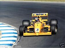 F3000 1989 Marcas Escotilla Martin Donelly Jordan Reynard 89D Mugen Fotografía Foto