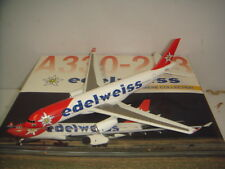 """Dragon Wings 400 Edelweiss A330-200 """"2000s color - Bahari"""" 1:400"""