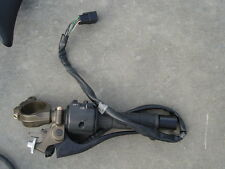 05 06 Kawasaki ZX6 636 ZX6R 600 Left Clipon with clutch lever and controls.