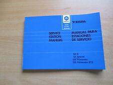 Vespa 50 R Special 125 Primavera ET3  Reparaturanleitung Werkstatthandbuch