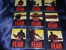 THE WALKING DEAD Comic Set 2 of 9 CHASE Trading Cards SOMETHING TO FEAR Negan