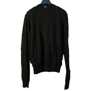 Pierre Balmain biker sweater size 48