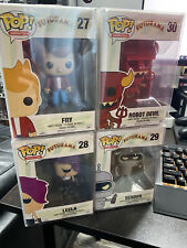 Vaulted Futurama POP Funko set of 4 with protectors.