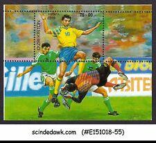 UZBEKISTAN - 1999 FOOTBALL / SOCCER - MINIATURE SHEET MNH